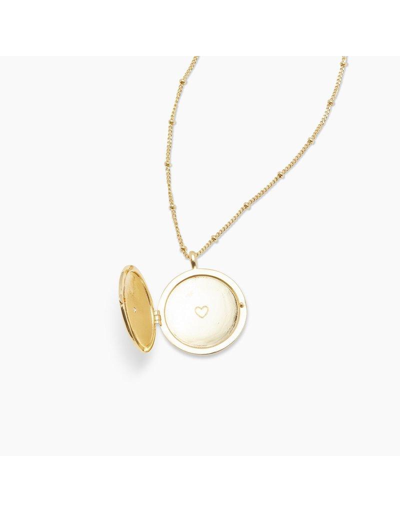 gorjana Stellar Locket Necklace