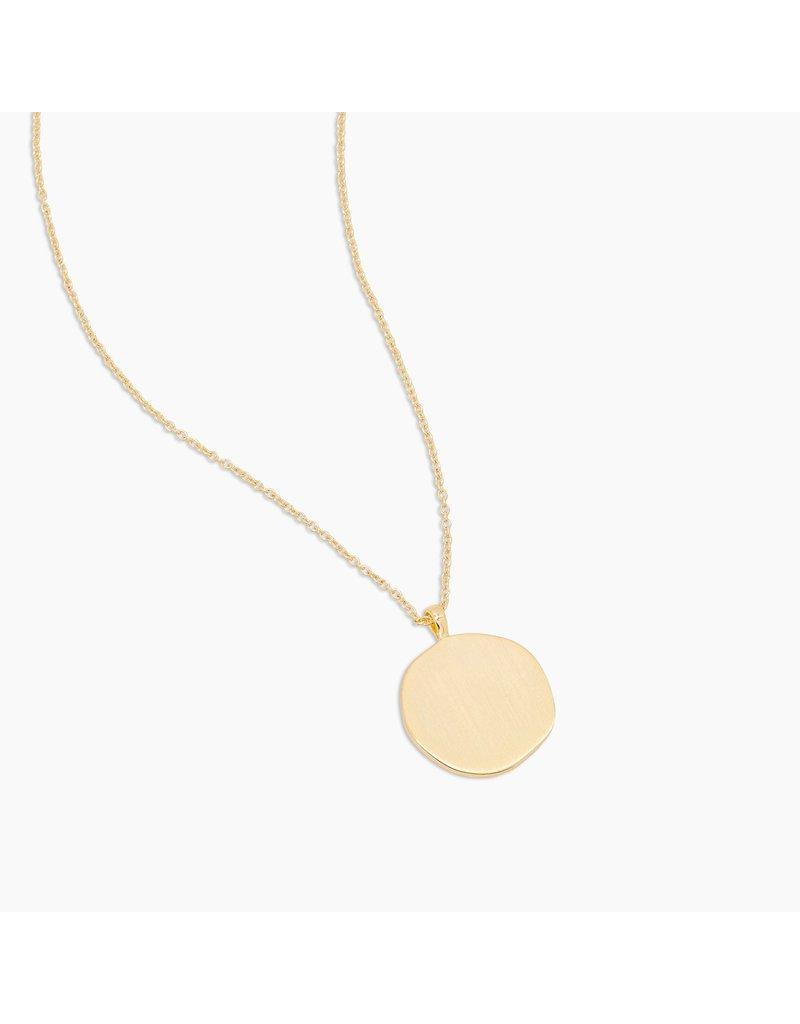 gorjana Sunburst Coin Necklace