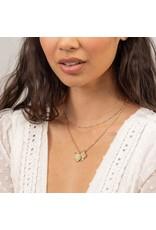 gorjana Maya Mixed Coin Necklace