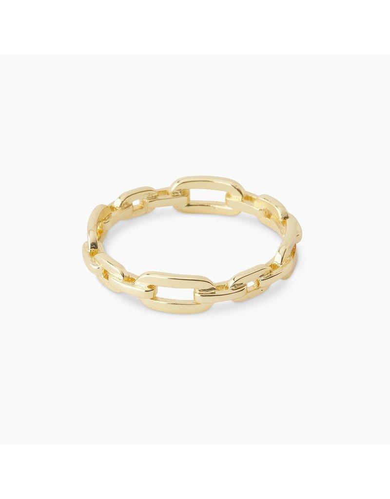 gorjana Parker Link Ring SZ 7