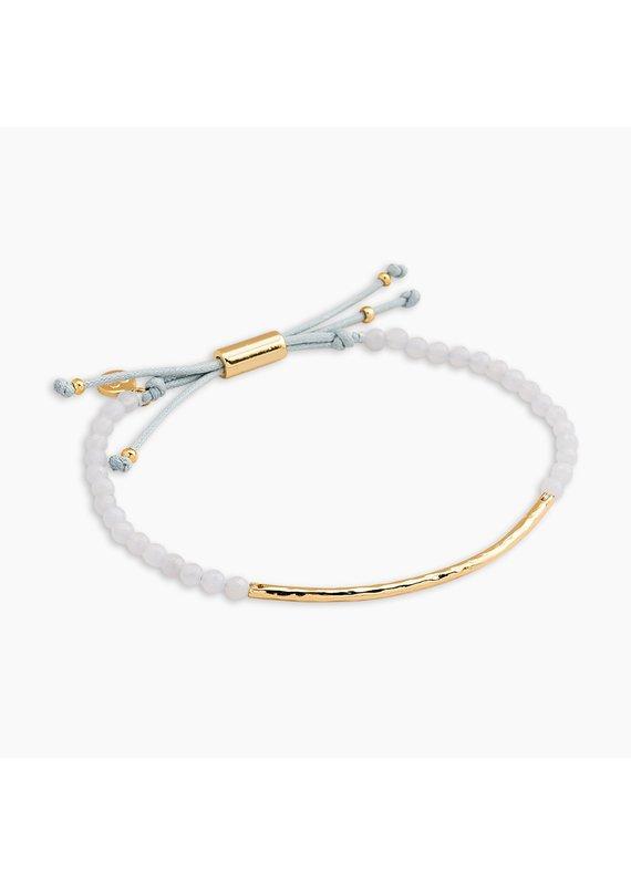 gorjana Power Blue Lace Agate Gemstone Self-expression Bracelet