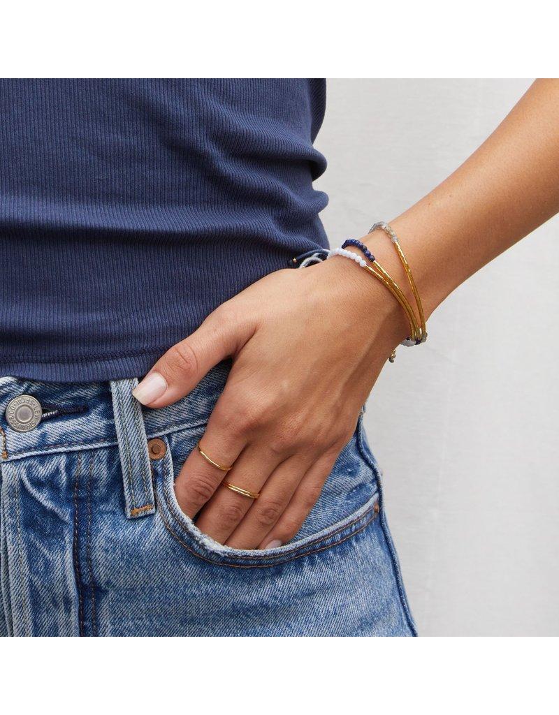 gorjana Power Labradorite Gemstone Balance Bracelet