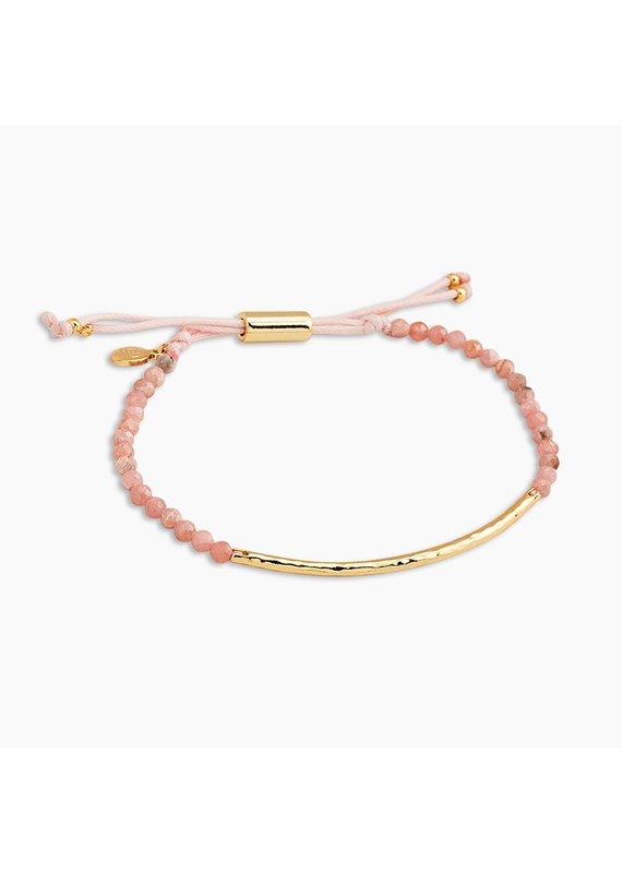 gorjana Power Rhodochrosite Gemstone Compassion Bracelet