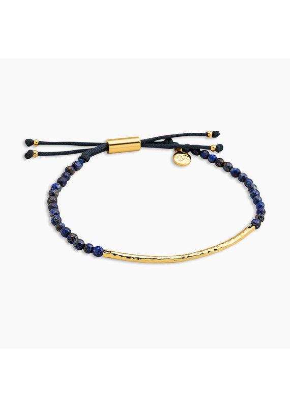 gorjana Power Lapis Gemstone Wisdom Bracelet
