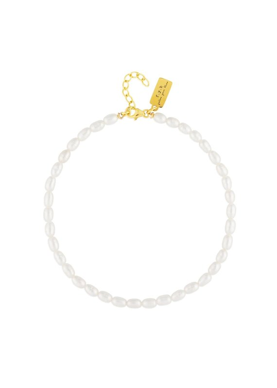 f.y.b jewelry Camille Pearl Anklet