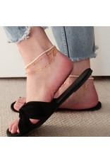 f.y.b jewelry Esme Anklet in Gold