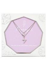 f.y.b jewelry Lily Powerful Layer Necklace in Silver