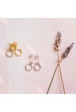 f.y.b jewelry Cecily Stud in Silver