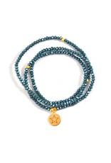 f.y.b jewelry You're a Star Crystal Wrap Bracelet