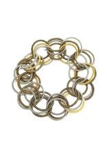 Sea Lily Multi Spring Ring Bracelet