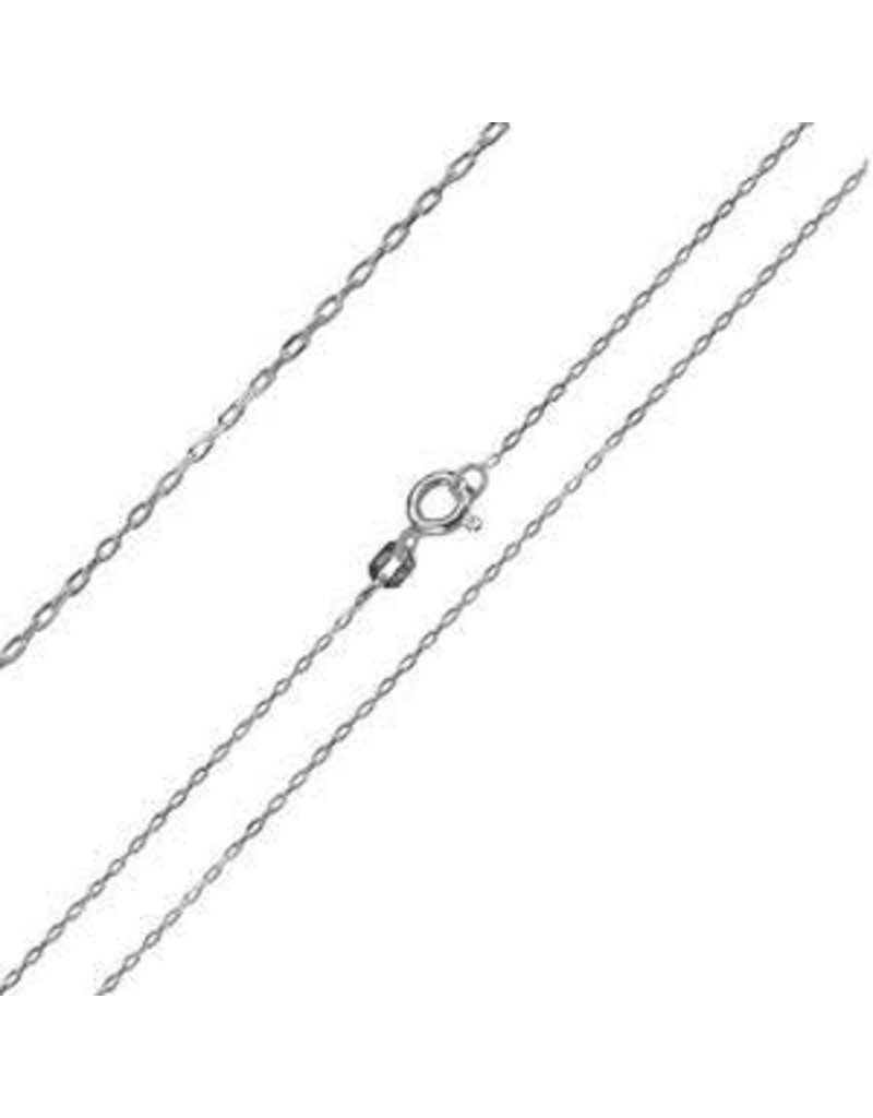 "Italian Sterling 20"" Cable Chain"