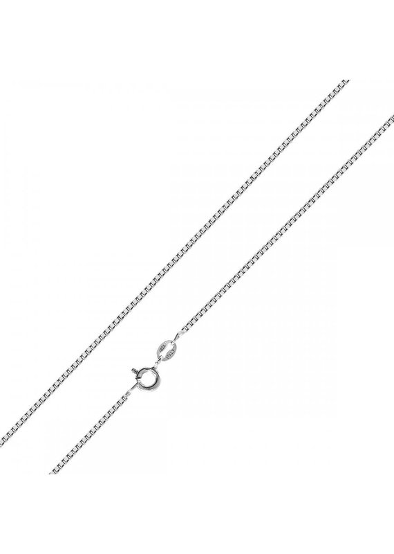 "Sterling Silver 18"" Box Chain"