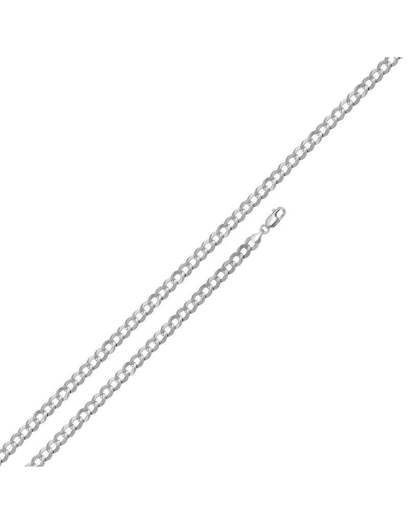 """Silver Depot Sterling Sterling 7"""" Curb Link Bracelet"""