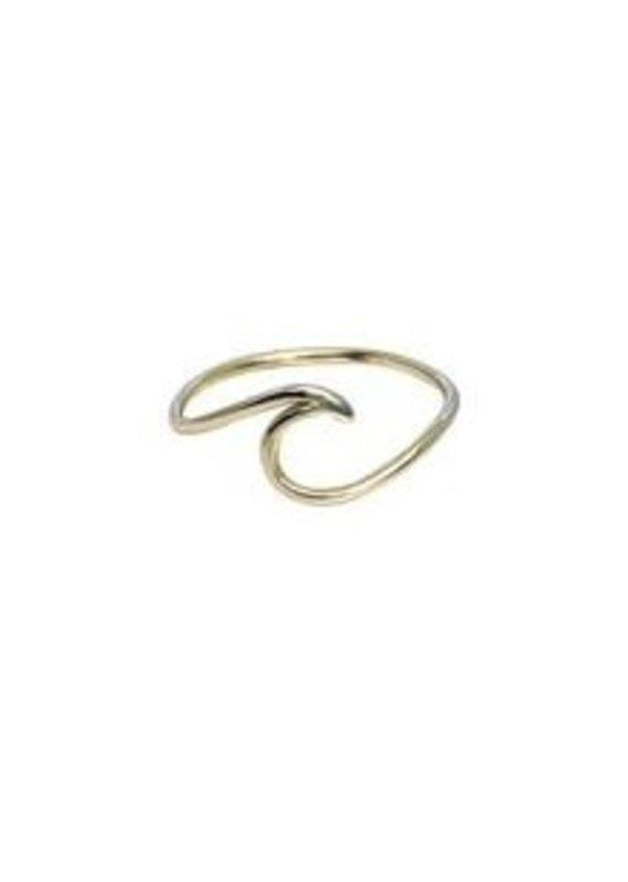 Modern Opus Sterling Silver Wave Ring