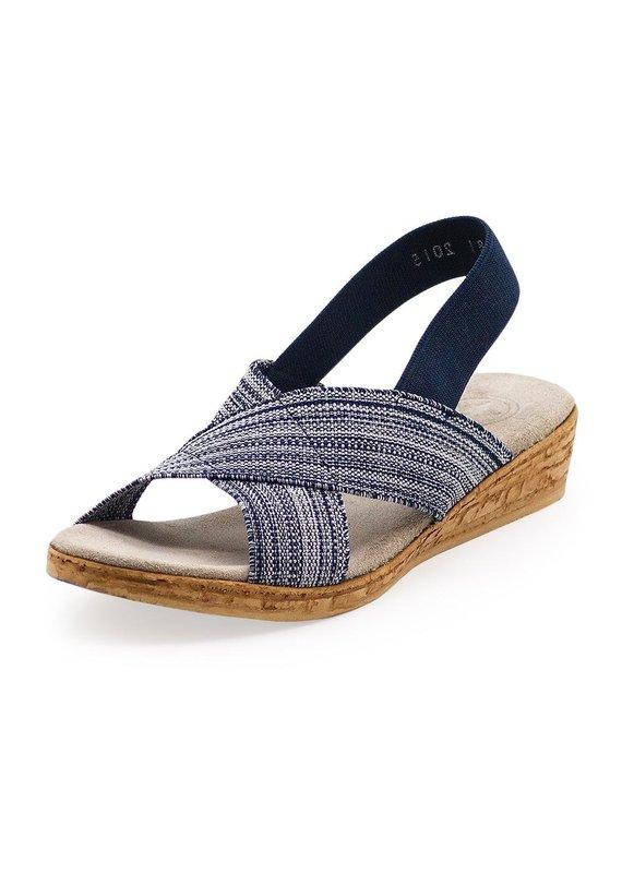 Charleston Shoe Co Atlantic Denim Sandal
