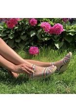 Charleston Shoe Co Cannon Multi Stripe Sandal
