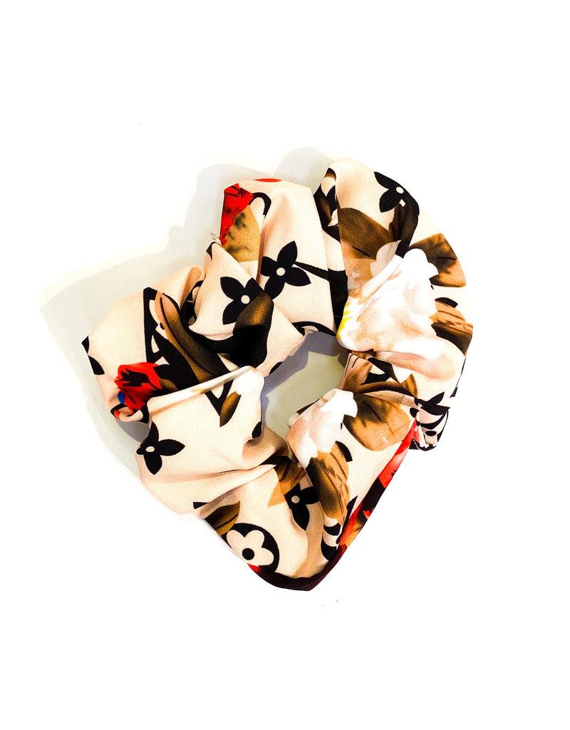 Lauren Rae Ivory Designer Inspired Scrunchie