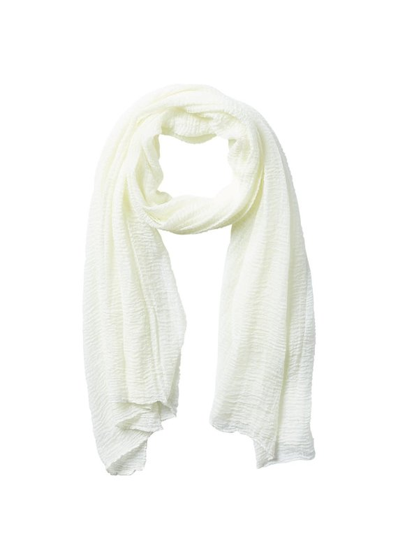 Tickled Pink Ivory Classic Insect Shield Scarf