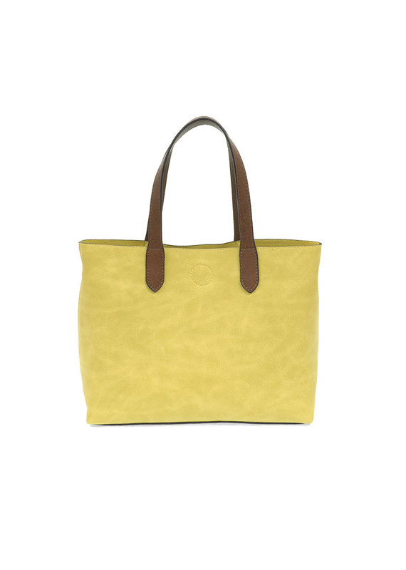 Joy Susan Lemon Fizz Mariah Medium Convertible Tote