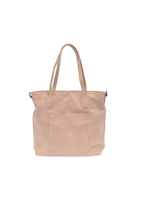 Joy Susan Pink Whisper Terri Traveler Zip Tote Handbag