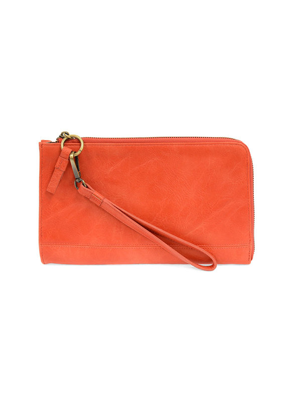 Joy Susan Coral Karina Convertible Wristlet Wallet