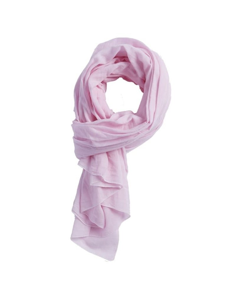 Tickled Pink Light Pink Insect Shield Scarf