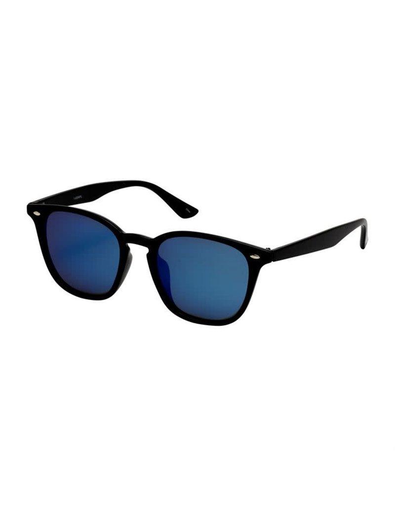 Blue Gem Polarized Black w Blue Lens