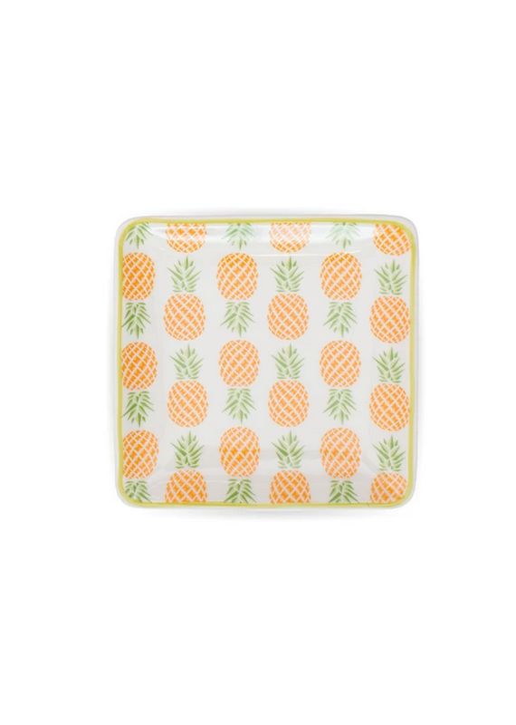 FinchBerry Pineapple Pattern Soap Dish