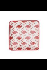FinchBerry Flamingo Pattern Soap Dish