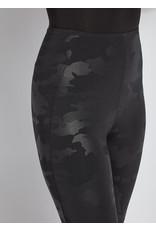 Lysse Black Camo Patterned Matilda Foil Legging