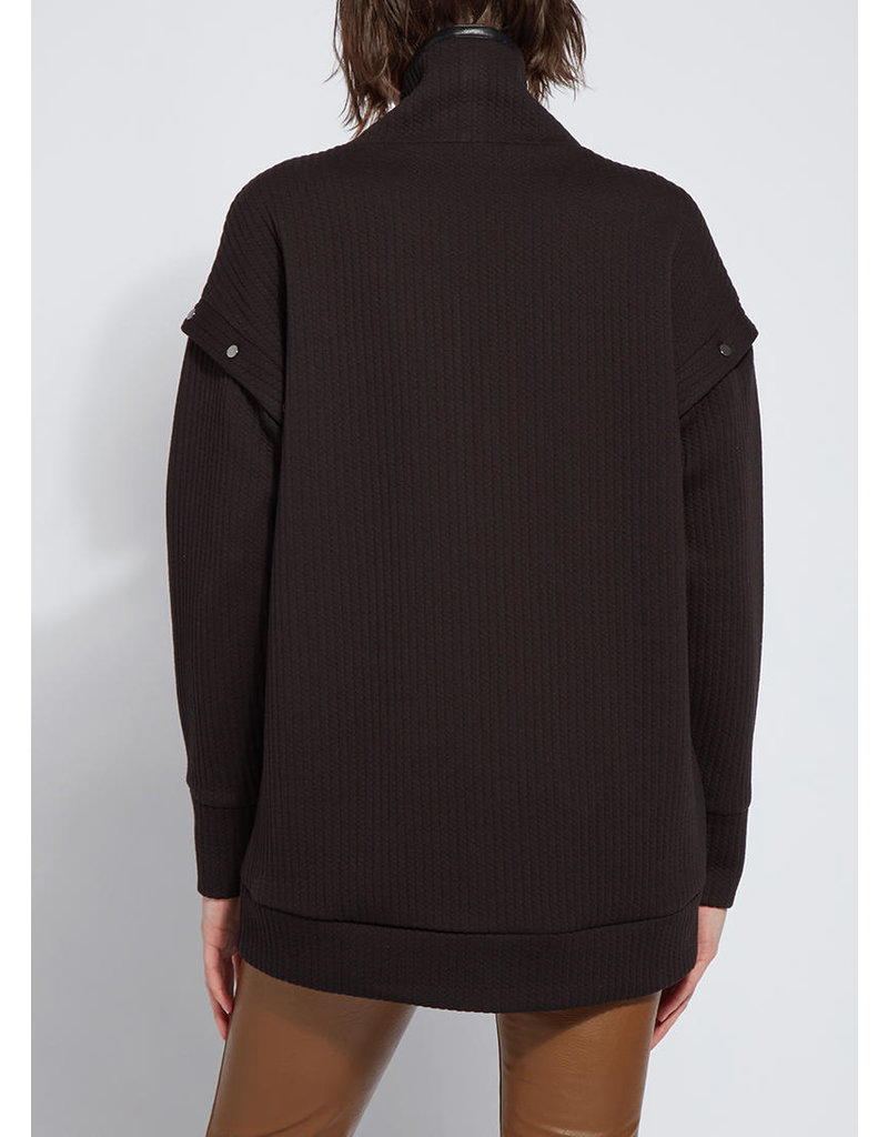 Lysse Black Cozy Convertible Sweatshirt