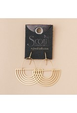 Scout Gold Solar Rays Earring