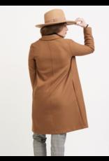 Dex Camel Lapel Collar Open Jacket