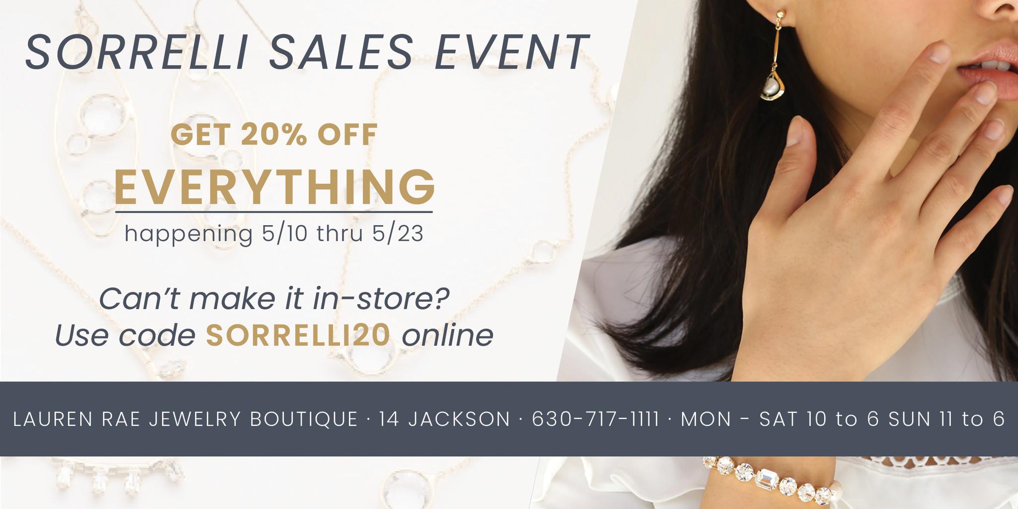 Sorrelli Sales Event