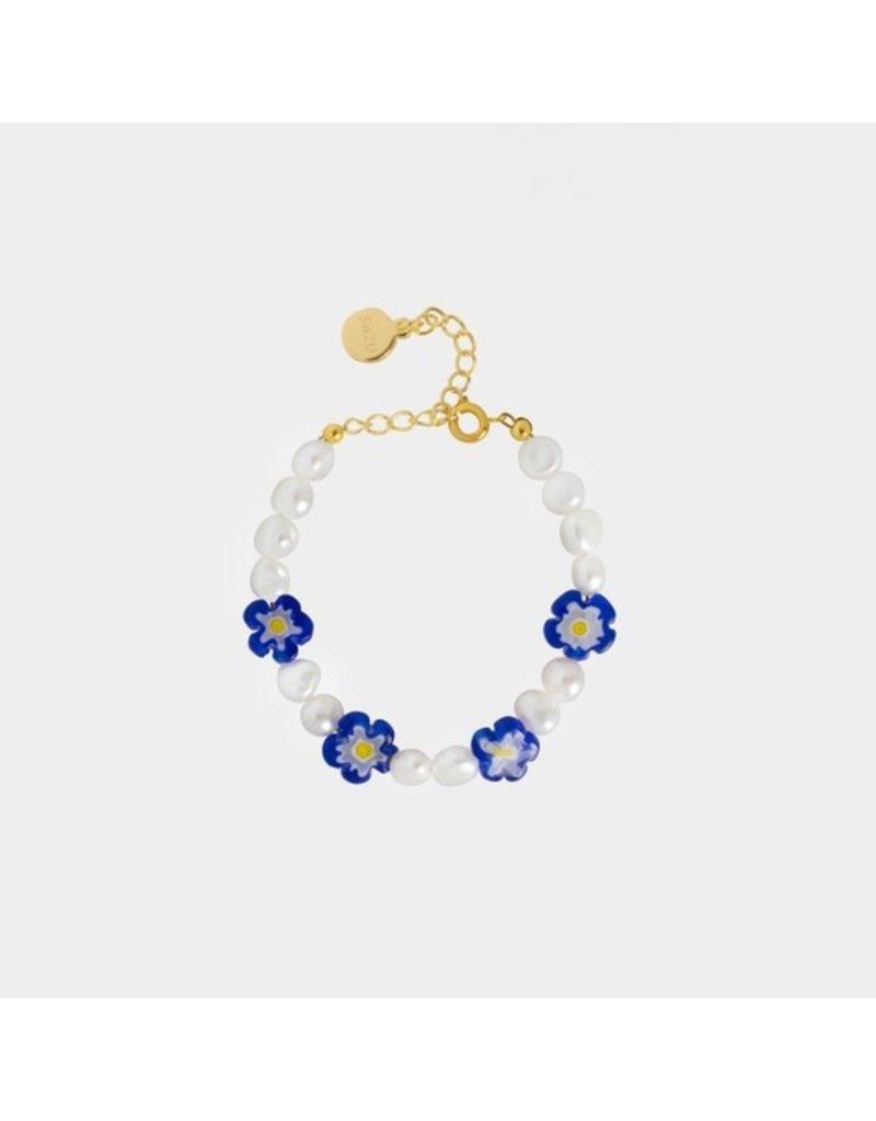 SiiZU Blue Gaho Bracelet