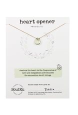 SoulKu Prasiolite Luxe Necklace