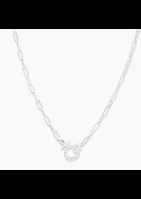 gorjana Parker Mini Necklace Silver