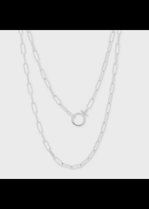 gorjana Silver Parker Wrap Necklace