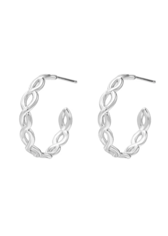 Natalie Wood Designs Bloom Mini Hoop Earring