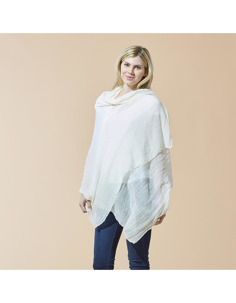 Hadley Wren Ivory Classic Insect Shield Scarf