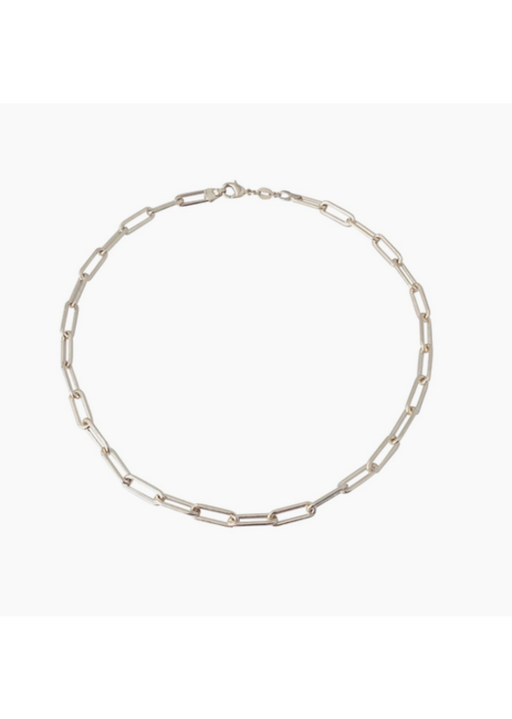 """Modern Opus Goldfilled Large Clip 18"""" Chain Necklace"""
