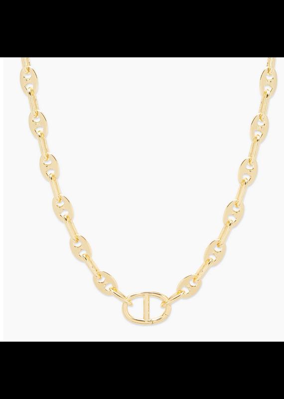 gorjana Gold Port Necklace