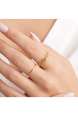 gorjana Port Ring Gold SZ6
