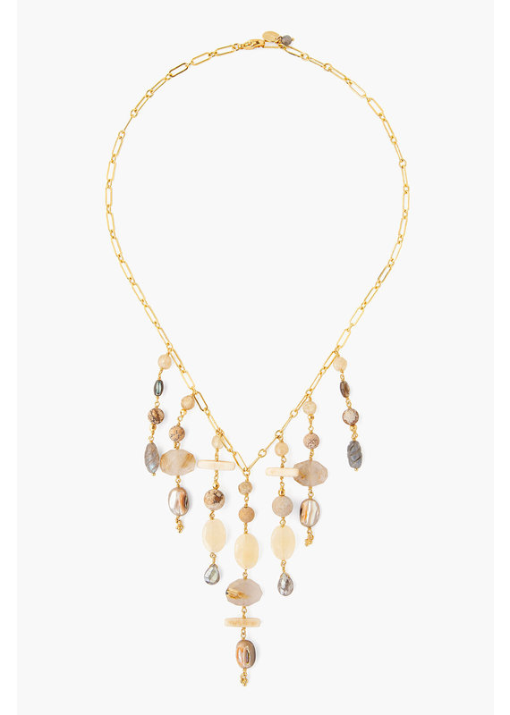 CHAN LUU Natural Mix Multi-Strand Necklace