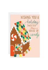 9th Letter Press House of Candy Mini Card