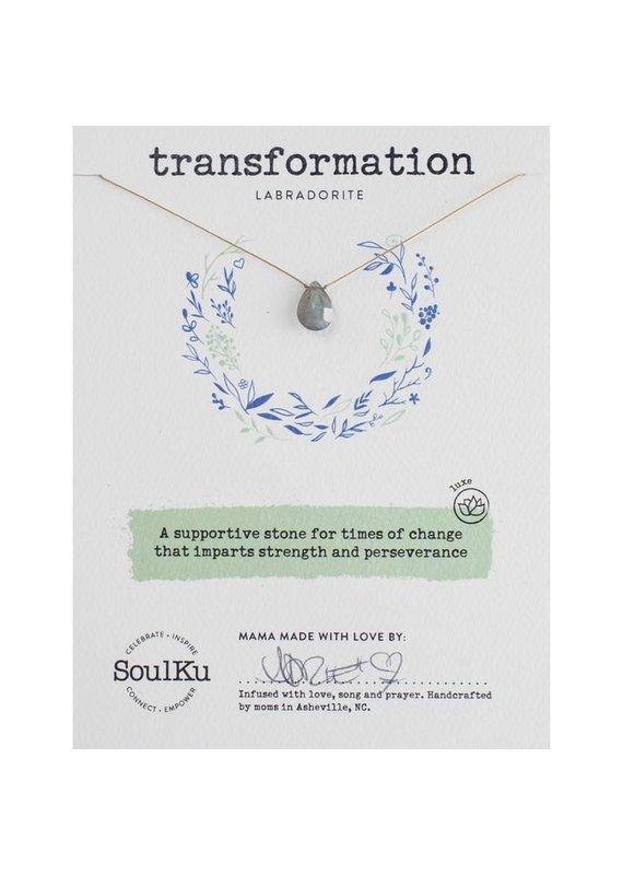 SoulKu Labradorite Luxe Necklace