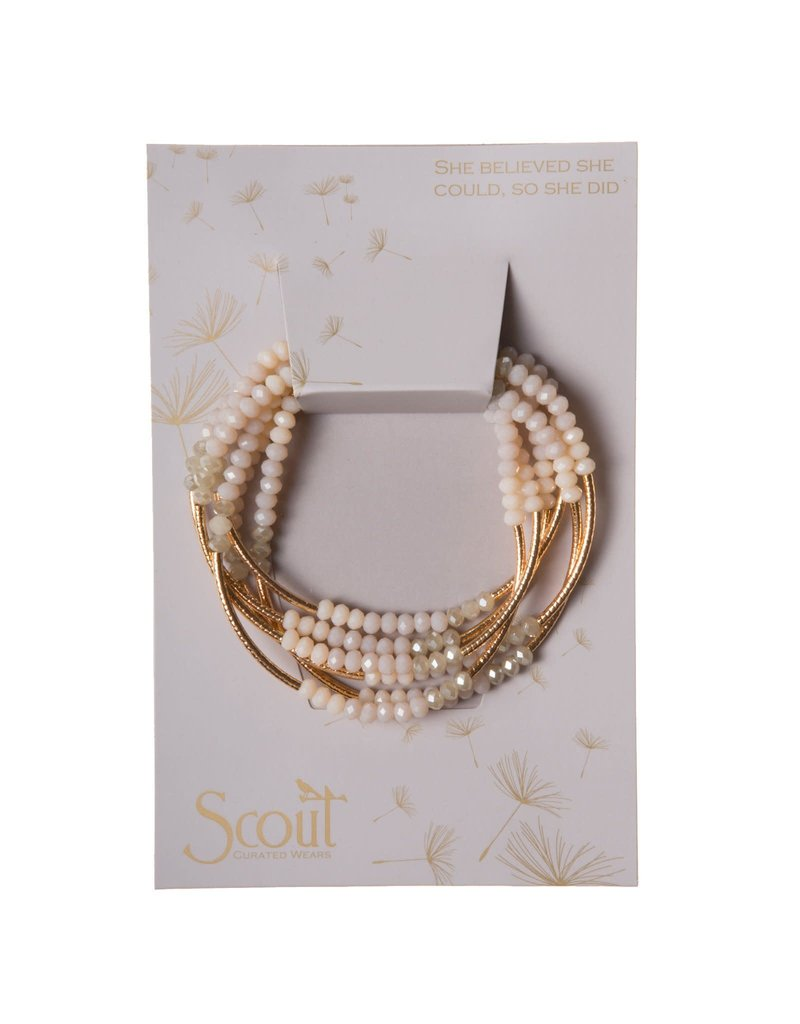 Scout Crystal Ivory Combo & Gold Wrap