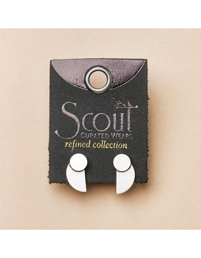 Scout Eclipse Stud in Sterling Silver