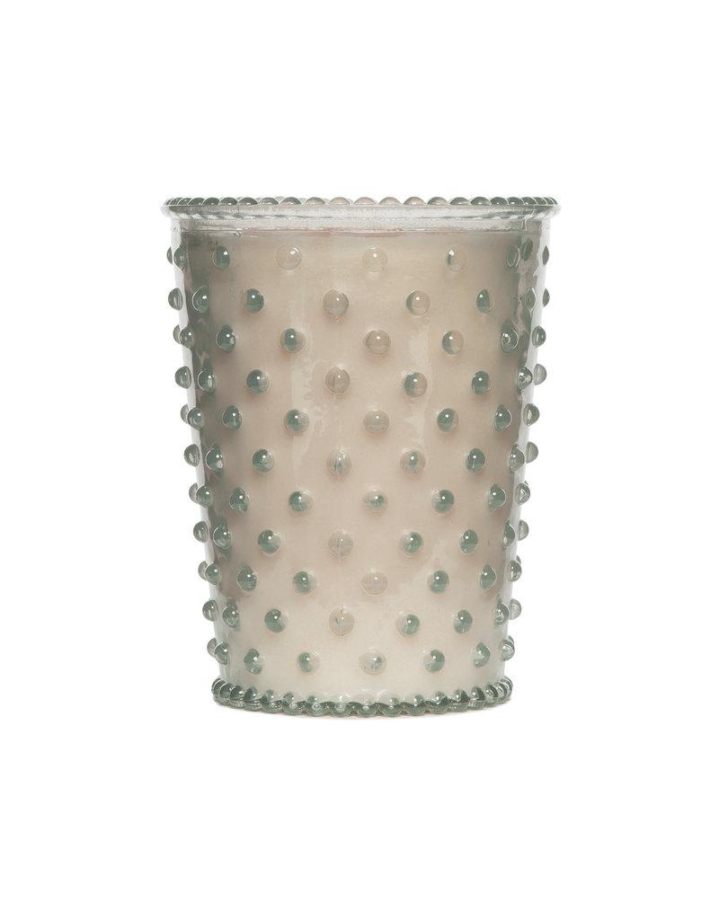 Simpatico Hobnail Glass Candle Champagne 16oz