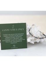 Lenny & Eva 4mm Gemstone Bracelet Picture Jasper